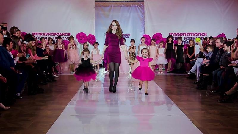Показ LELU KIDS, Россия, Йошкар-Ола. International Kids Fashion Week, spring 2018
