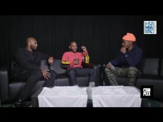 Интервью Kobe Bryant и Kendrick Lamar. Русский язык (Flowmastaz)