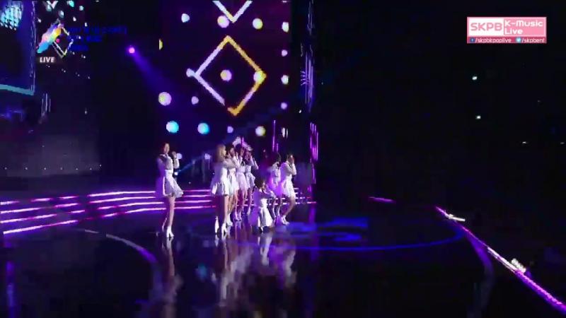 170920 우주소녀(WJSN (Cosmic Girls) - HAPPY (해피) @ 2017 Soribada Best K-Music Awards