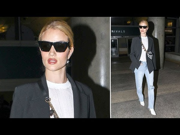 Supermodel Rosie Huntington-Whitely Is The Essence Of Cool