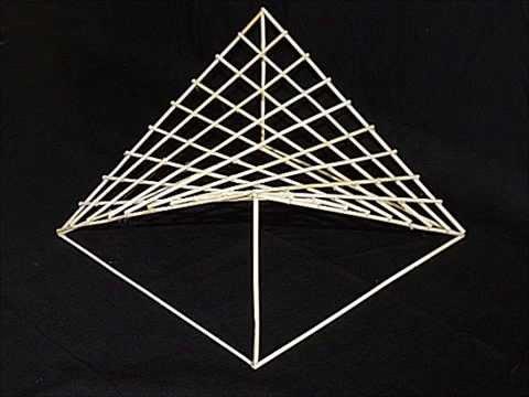Building a Hyperbolic Paraboloid