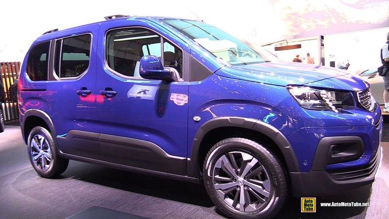 2018 Peugeot Rifter Allure - Exterior and Interior Walkaround - 2018 Geneva Motor Show