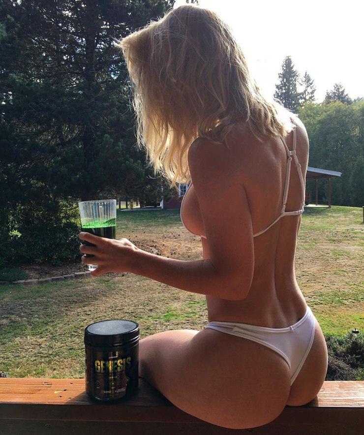 Blonde Rauchen Sex und Rauchen Blowjob