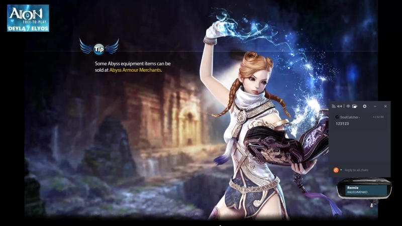 Aion ЕU 5.8 I Gunner and Cleric DPS 75