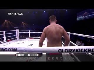 Glory 53 (нокаут): Зинедин Хамо-Лайн — Майкл Дуут | Hameur-Lain  vs. Duut | Нокаут