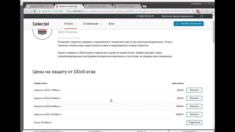 Общий обзор рынка защиты от DDoS-атак