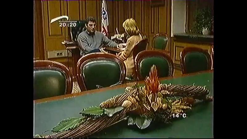 Борис Немцов о посещении Чечни. Прямая речь. ТК Волга. 13 декабря 2002.