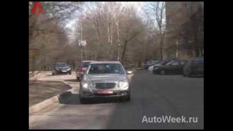 Audi A6 3,2 Quattro, BMW 530 xi, Mercedes E350 4matic и Infiniti M35x