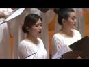 Китайский хор вживую исполняет песню Прекрасное далеко