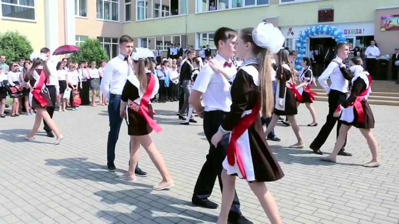 Shkolny fleshmob Tanets vypusknikov Posledniy Zvonok v shkole Studia Otrazhenie