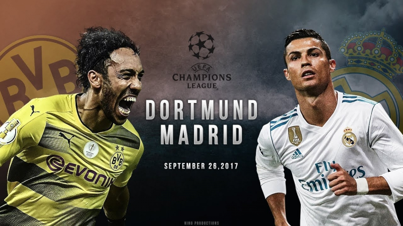 Borussia Dortmund vs Real Madrid - UCL Promo
