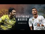 Borussia Dortmund vs Real Madrid - UCL Promo