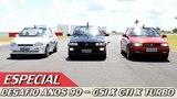 VW GOL GTI x FIAT UNO TURBO x CHEVROLET CORSA GSI - ESPECIAL #27  ACELERADOS
