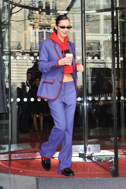 #News Новый выход Беллы Хадид перед началом Недели моды