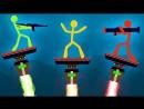 Михакер БОМБЯЩИЙ ХЕЛЛДОР, ТАЩЕР МИХАКЕР И ПРОСТО КВАНТУМ - STICK FIGHT THE GAME Full HD 1080