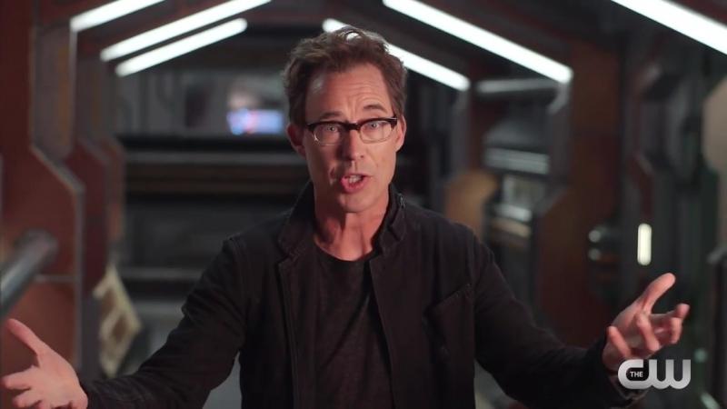 DCTV Crisis on Earth X Crossover Cast Tease 2 The Flash Arrow Supergirl DCs Legends HD