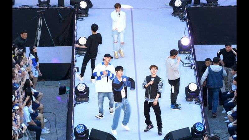 아이콘 iKON 벌떼 (B-DAY), 아카라카 연대축제[4K 직캠]@180519 락뮤직