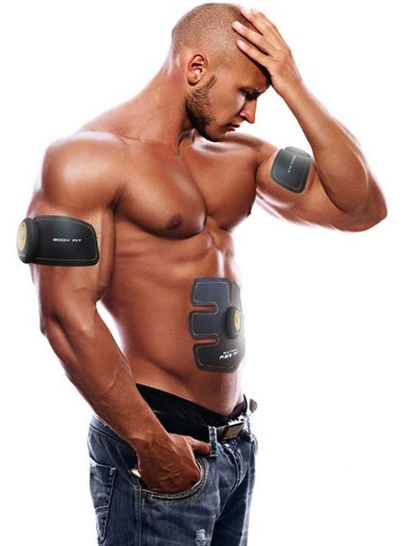 ???? Электрический стимулятор мышц миотренажёр «EMS-Trainer»