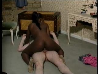 Fiona cooper - ebony girl interracial fuck