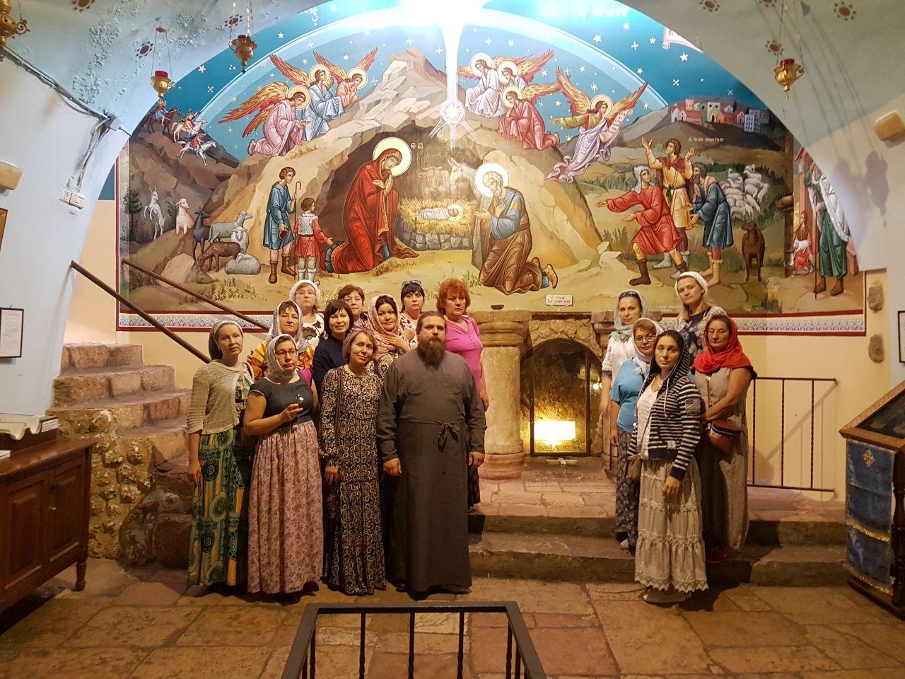 Преподаватели православной гимназии совершили паломничество на Святую Землю