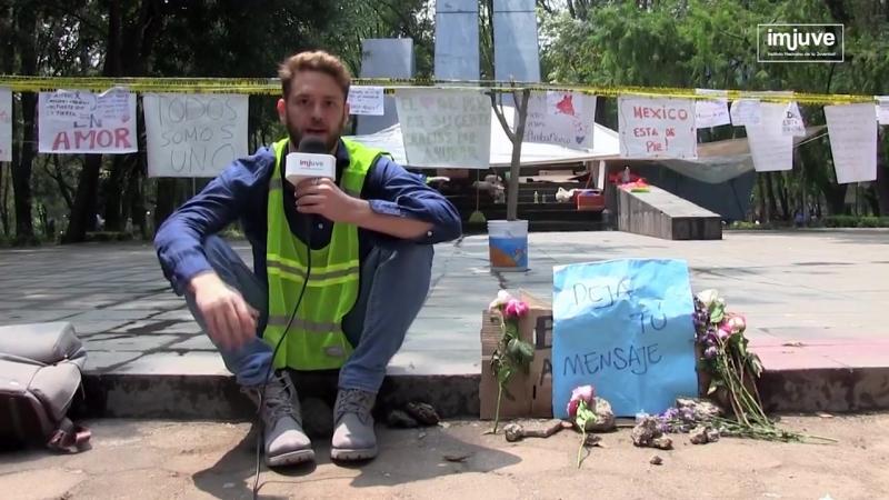 Christopher Uckermann: a de ayudar a México 💪 HazClick
