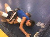 kid tapped out by anaconda choke submission