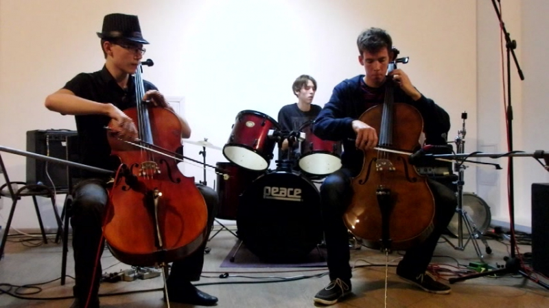 Los cellos hermanos the cranberries cover zombie БарRe