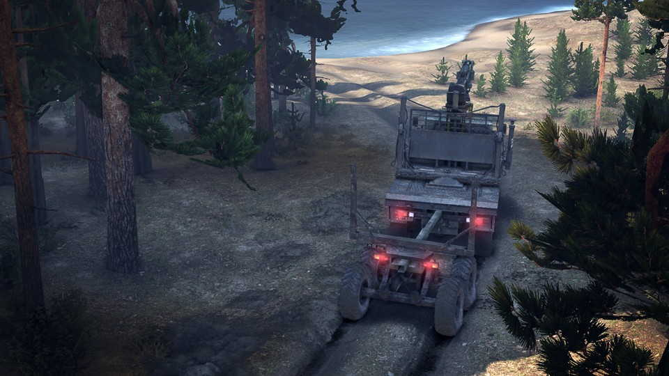 Скриншот игры Spintires