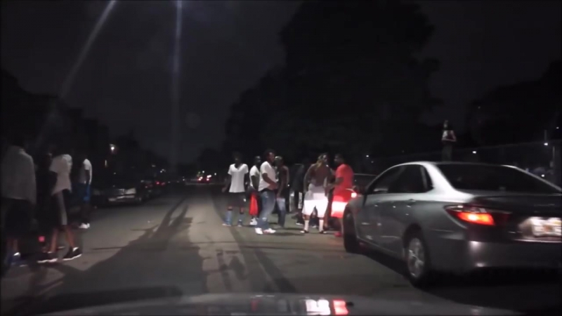 DETROITS MOST GHETTO STREETS AT NIGHT COMPILATION