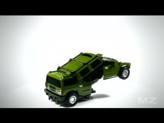 Радиоуправляемый трансформер Hummer H2
