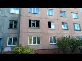 Житель города Омска спас ребёнка выпрыгнувшего из окна горящей квартиры