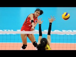 Top 10 Fantastic Volleyball Spikes by Alyssa Valdez - Height 175 cm - Motivation in Volleyball