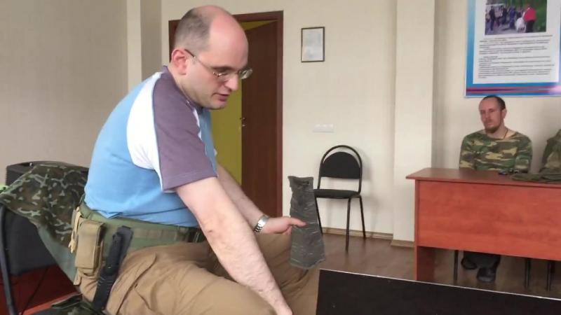 Иммобилизация бедра при помощи шины SAM Splint