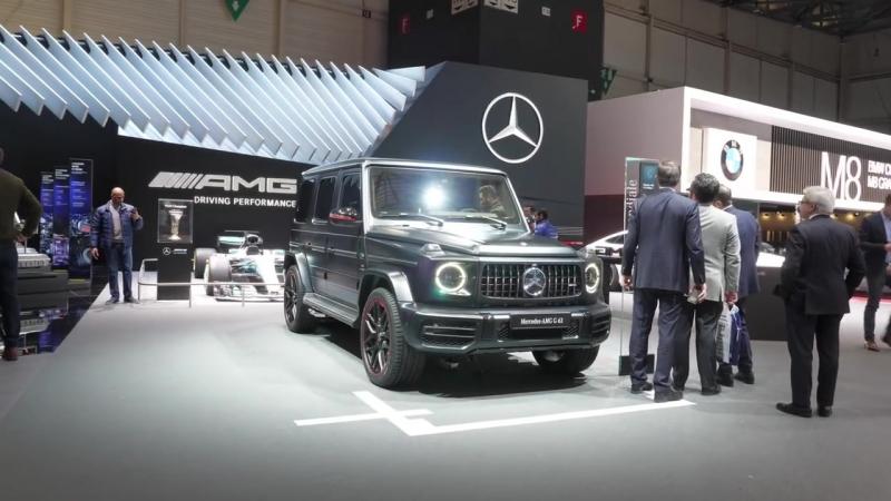Mercedes G AMG G63 2018