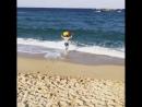 А Михаэль Реш решил искупаться в Японском море.