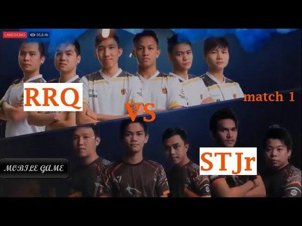 RRQ VS STJr Grandfinal MPL Match 1