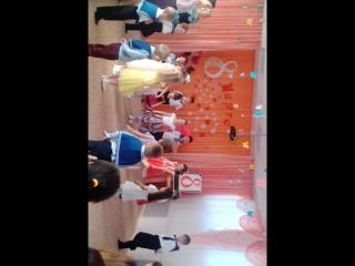 Татарский танец на 8 марта. II.