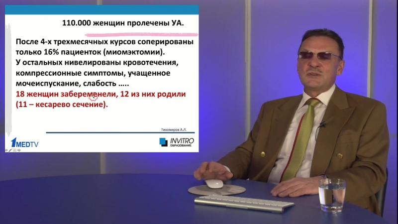 Дифференцированный подход в лечении миомы матки Тихомиров А Л