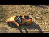Vin Diesel -Toyota Supra (Форсаж 1) and Sami Naceri - Peugeot 406 (TAXI 2)