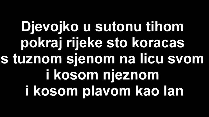 Divlje Jagode - Jedina Moja Lyrics (tekst)