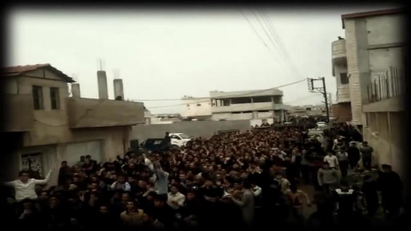 Йа ша'би Сури Мансур يا شعبي السوري منصور песня Сирийской революции группа Ахрару Шам