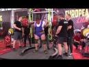 Соловей Антон присед 390 кг