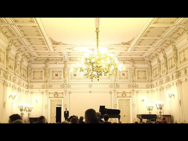 Александр Лубянцев. Бисы. Малый зал Филармонии, 28 октября 2017