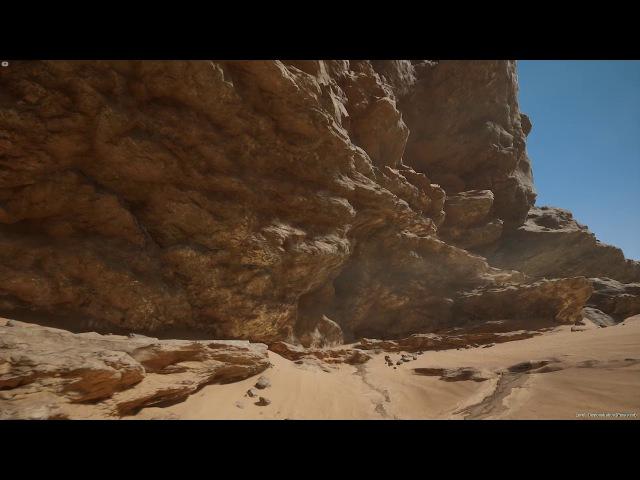 [UE4] Scorched Badlands - Video 01
