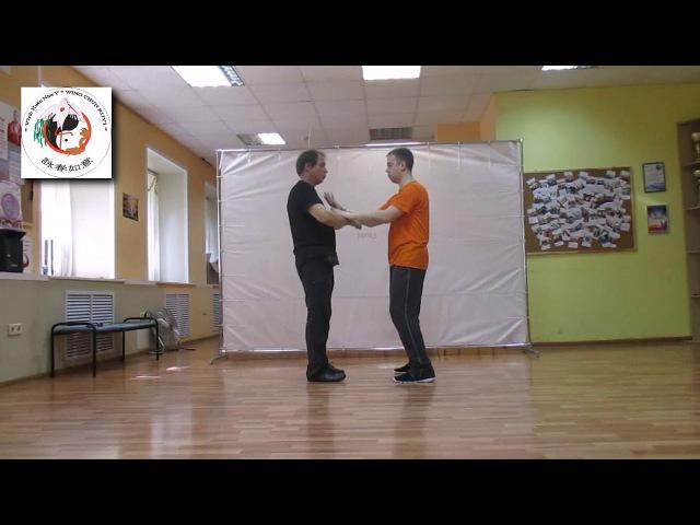 DAI SIFU SERGEI SHELESTOV Wing Chun Ruyi Primary Forms of Hands Seminar P5.1 Practic