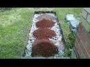 Садовая дорожка из битой плитки Garden path of broken tiles