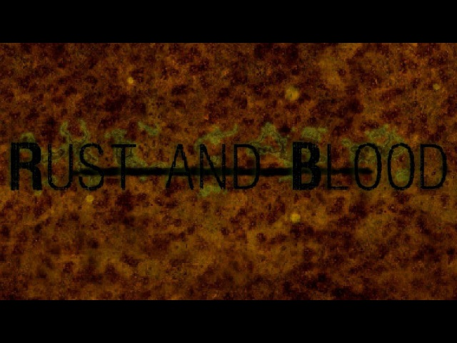 Rust and Blood - RPG Maker Horror Game, Manly Let's Play