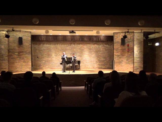 Papageno's Aria from Magic Flute; Eugene Izotov Pablo Moreno (oboes)