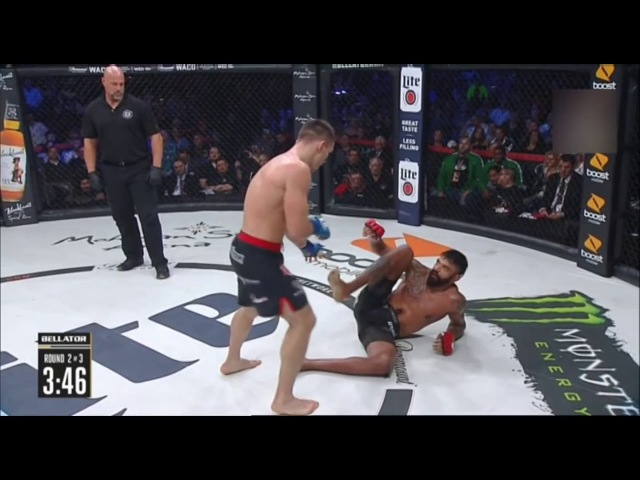 Вадим Немков vs Лиам Макгири (Bellator 194)