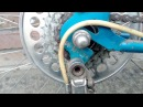 Велосипед ХВЗ 1980 года Разборка и сборка задней трещетки каретки задней перекидки